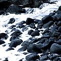 Black Rocks Along The Puna Coast by Lehua Pekelo-Stearns