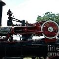 Black Steam Engine by Kathleen Struckle