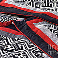 Black Thai Fabric 04 by Rick Piper Photography