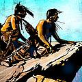 Blackfeet Scouts by Paul Sachtleben