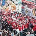 Blackhawks Celebration Stage by Curtiss Messer