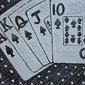 Blackjack Hand by Kathy Marrs Chandler