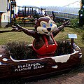 Blackpool Pleasure Beach Lancashire England by Doc Braham
