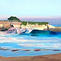 Blacks Beach - Santa Cruz by Peter Forbes