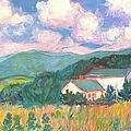 Blacksburg Clouds by Kendall Kessler