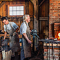Blacksmith And Apprentice 2 by Steve Harrington