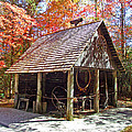 Blacksmith Shop In The Fall by Duane McCullough