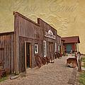 Blacksmith Shop by Liane Wright
