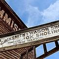 Blacksmith Shop by Mark Eisenbeil