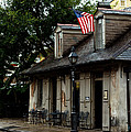 Blacksmith Shop On A Rainy Day by Susie Hoffpauir