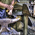 Blacksmith Working Iron V1 by John Straton