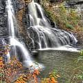 Blackwater Falls-2a Blackwater Falls State Park Wv Autumn Mid-morning by Michael Mazaika