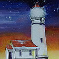 Blanco Lighthouse by Thomas J Herring