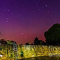 Blanco River Dam At Night - Texas Hill Country Blanco Texas by Silvio Ligutti