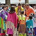 Blanket Dance Finish - Nanticoke Powwow by Kim Bemis