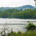 Blanket Of Fog On Clinch River  by Cynthia Woods