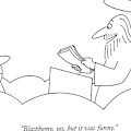 Blasphemy, Yes, But It Was Funny by Charles Barsotti