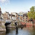 Blauwbrug In Amsterdam by Artur Bogacki