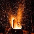 Blazing Bonfire by Semmick Photo
