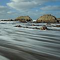 Blegberry Beach Devon by Pete Hemington