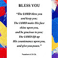 Bless You Poster by David Clode