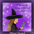 Blessed Samhain Witch by Eva Thomas