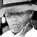 Blind Man Juarez Chihuahua Mexico 1968 by David Lee Guss