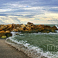 Blind Pass Storm Rocks - Captiva  by Richard Gripp
