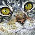 Stunning Cat Painting by Michelle Wrighton