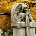 Blissful Angel In Autumn by Gothicrow Images