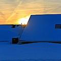 Blizzard Sunrise by Dan Sproul