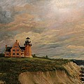 Block Island Southeast Lighthouse by Robert Wright
