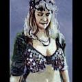 Blonde Bellydancer by Rachel Rose