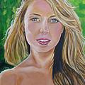 Blonde by Bryan Bustard