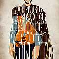 Blondie Poster From The Good The Bad And The Ugly by Inspirowl Design