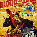 Blood And Sand, Us Poster, From Left by Everett