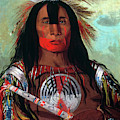 Blood Head Chief, 1832 by Granger