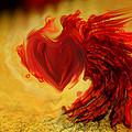 Blood Red Heart by Linda Sannuti