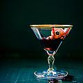 Bloody Eyeball In Martini Glass by Edward Fielding
