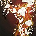 Blooming Flame by Julia Dangaran