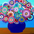 Blooming Florals 1 by Pristine Cartera Turkus