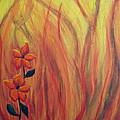 Blooming In Hell 1 by Laurette Escobar