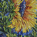 Blooming Sunflower by Lena  Owens OLena Art