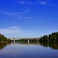 Blountstown Bridge On The Apalachicola River by Debra Forand