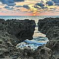 Blowing Rocks Sunrise by Bruce Bain