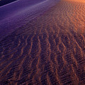 Blowing Sand At Death Valley by Dave Mills