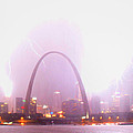 Blowout Over St Louis by Garry McMichael