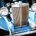 Blue 1953 Mg by Theresa Tahara