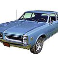 Blue 1966 Pointiac Lemans by Keith Webber Jr
