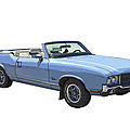 Blue 1971 Oldsmobile Cutlass Supreme Convertible by Keith Webber Jr